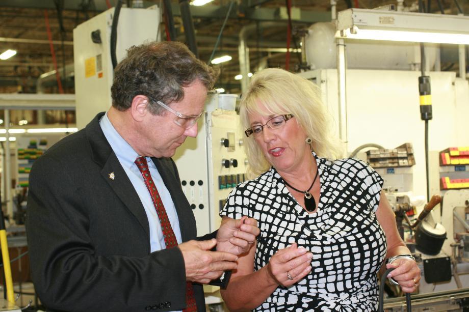 At Lauren Manufacturing in New Philadelphia