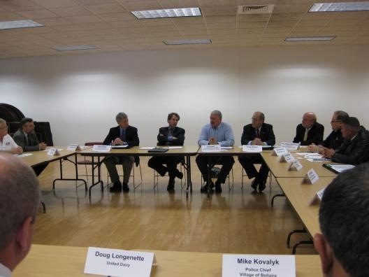 Senator Brown Holds Roundtable With Community Leaders In Belmont County
