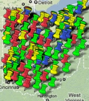 Ohio Clean Energy Projects funded by the ARRA